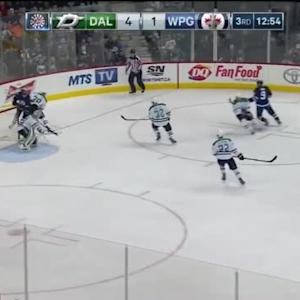 Kari Lehtonen Save on Evander Kane (07:07/3rd)