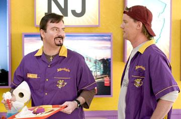 Brian Christopher O'Halloran and Jeff Anderson in The Weinstein Company's Clerks II