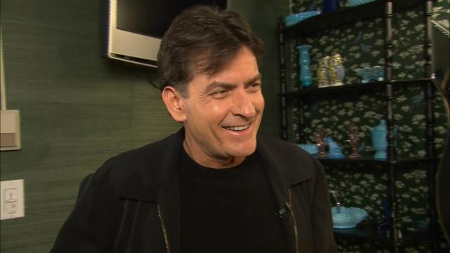 Charlie Sheen speaks with Access Hollywood correspondent Jill Martin, March 29, 2012 -- Access Hollywood