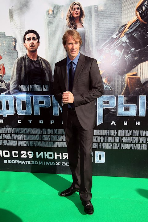 Transformers Dark of the Moon 2011 Moscow Premiere Michael Bay