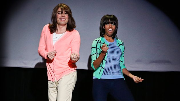 Michelle Obama Busts a Move in 'Evolution of Mom Dancing' (ABC News)