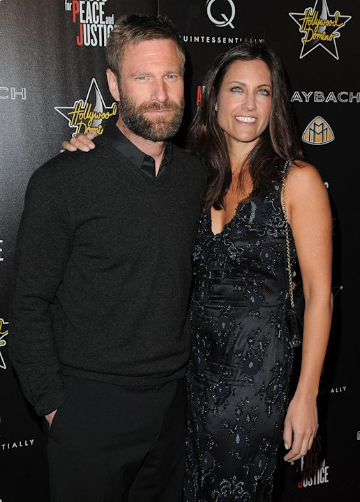 3rd Annual Pre-Oscar Hollywood Domino Gala Benefit 2010 Aaron Eckhart