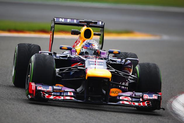 F1 Grand Prix of Belgium - Practice