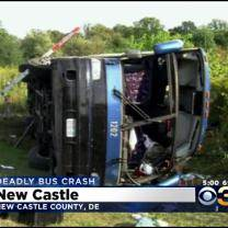 NTSB Investigating Deadly Tour Bus Crash In Delaware