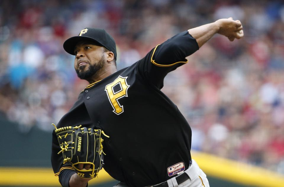Pirates complete 1st desert sweep with 8-0 win over D-backs