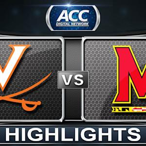 Virginia vs Maryland | 2014 ACC Basketball Highlights