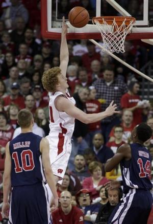 Wisconsin defeats Samford 87-51