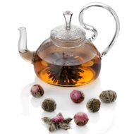 Easy Exotic by Padma Lakshmi Blooming Tea Set with 8 Teas