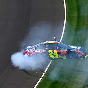 Gordon wins fifth Brickyard 400