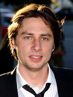 Zach Braff at the Los Angeles premiere of Fox Searchlight's Garden State