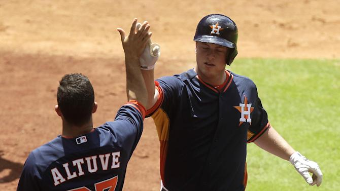 Dominguez, Astros power past White Sox 8-2