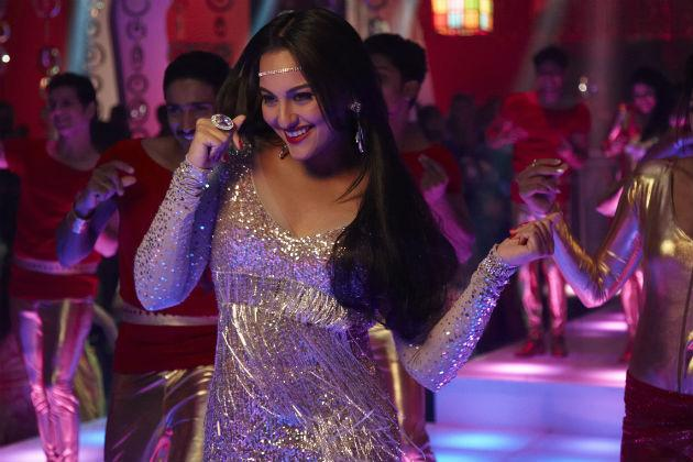 Sonakshi's disco look