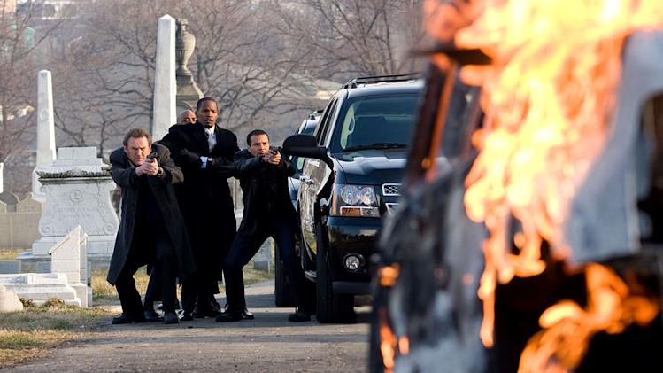 Law Abiding Citizen Production Photos Overture Films 2009 Colm Meaney Brian Distance Jamie Foxx Michael Irby