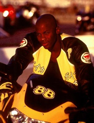 Derek Luke in DreamWorks' Biker Boyz
