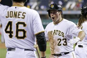 Snider powers Pirates past Brewers 7-1