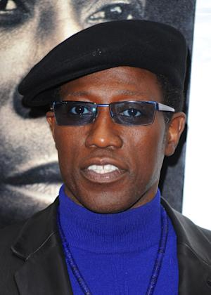"FILE - In this March 2, 2010 file photo, Wesley Snipes attends the premiere of ""Brooklyn's Finest"" in New York. (AP Photo/Peter Kramer, file)"