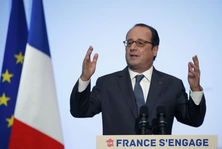 Aides deny Hollande eyeing key EU role overseeing Brexit
