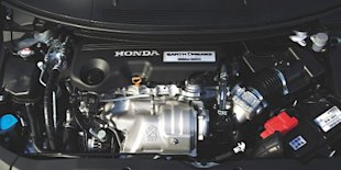 Honda Civic i-DTEC 1.6 liter - engine