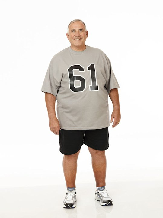 "Mike Danley competes on the twelfth season of ""The Biggest Loser."""