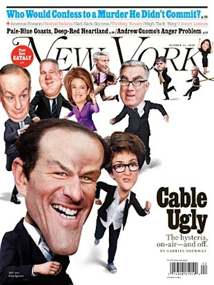 New York magazine on cable wars