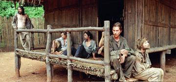 Jeremy Davies , Christian Bale and Steve Zahn in MGM's Rescue Dawn