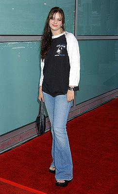 Premiere: Amber Tamblyn at the LA premiere of New Line's Freddy vs. Jason - 8/13/2003