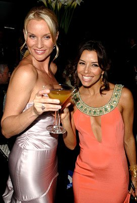 Nicollette Sheridan and Eva Longoria