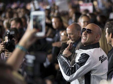U.S. box office: 'Furious 7' out runs 'Paul Blart 2,' 'Unfriended'