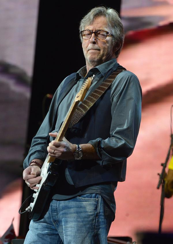 Eric Clapton Cancels Shows Due to Back Injury