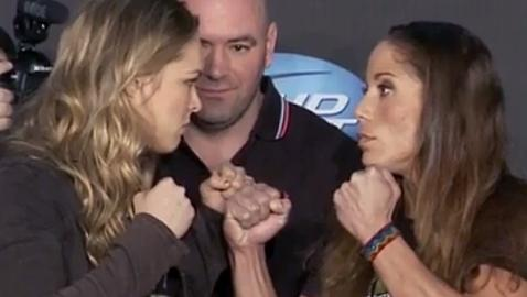 Liz Carmouche Accepted the Fight with Ronda Rousey When Others Turned It Down