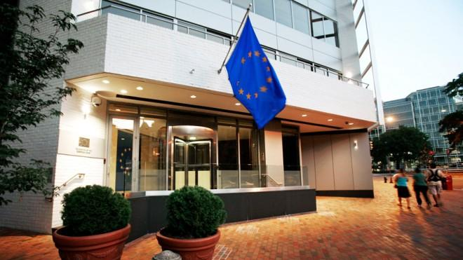 The EU embassy in Washington, D.C., was allegedly a target for surveillance, according to new NSA documents.