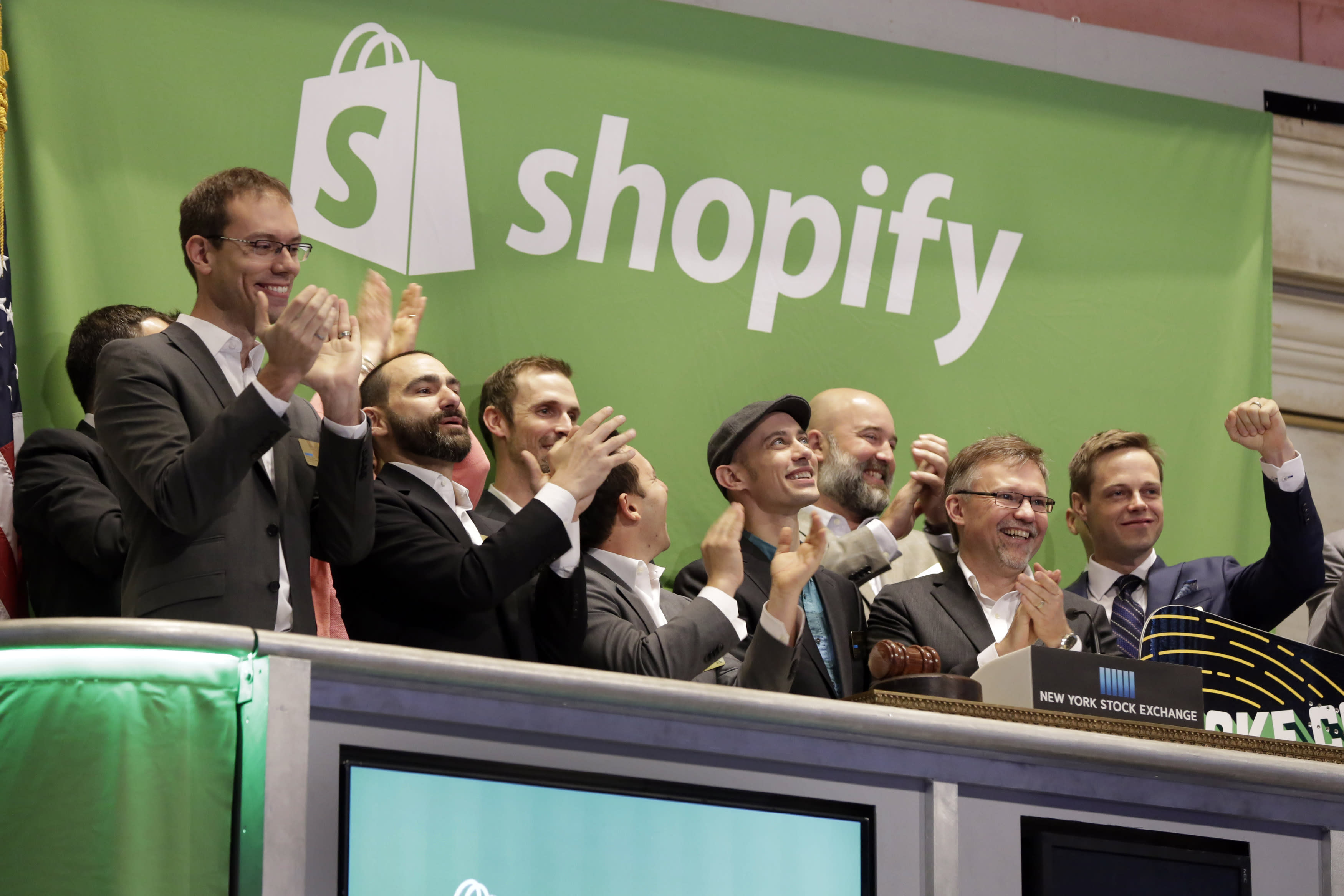Shopify CEO on the stock surging 50% after IPO