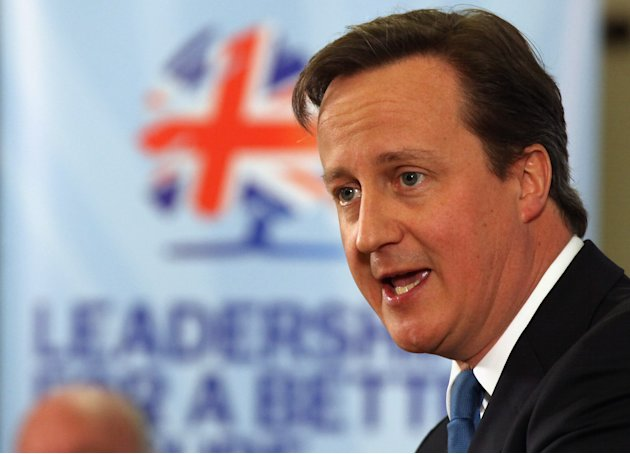 Prime Minister David Cameron Launches The Conservative Party's 2012 Local Election Campaign