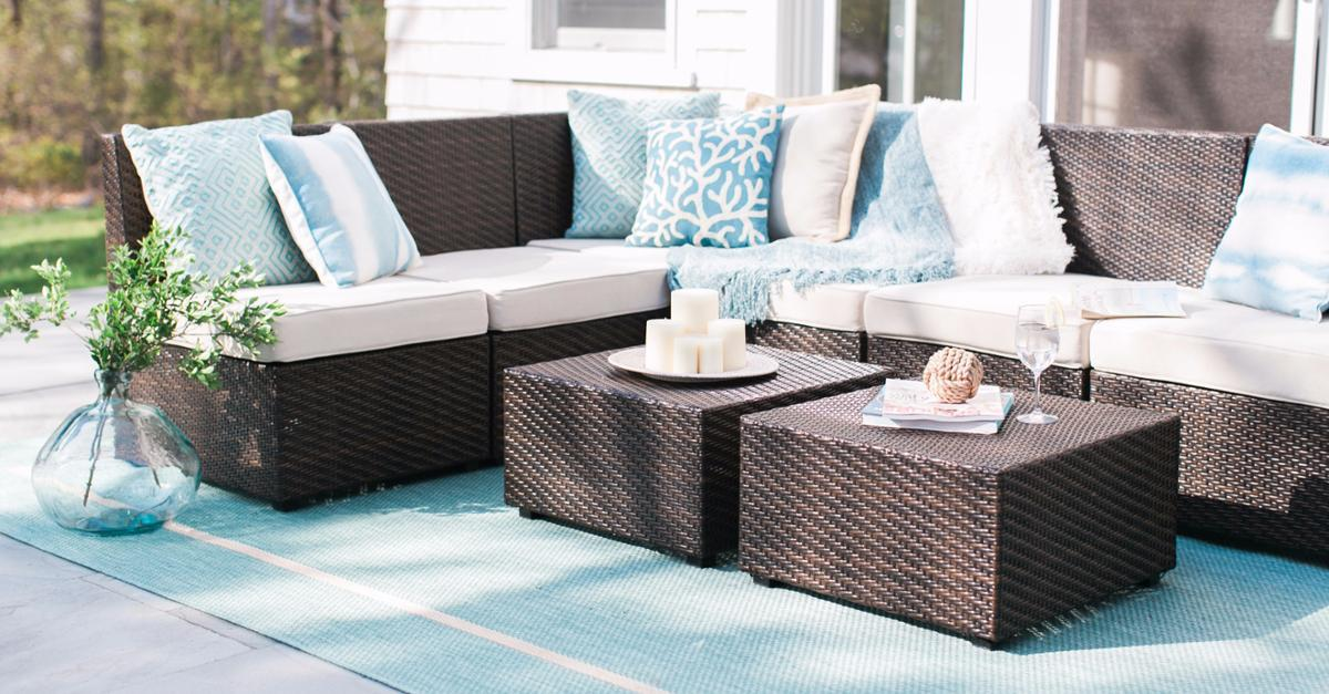 Relaxing Patio Retreat By Pier 1 Imports