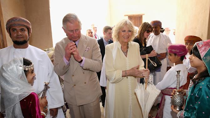 Prince Charles And The Duchess Of Cornwall Visit Middle East - Day 8
