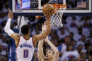 Westbrook, Thunder put Warriors on brink of elimination
