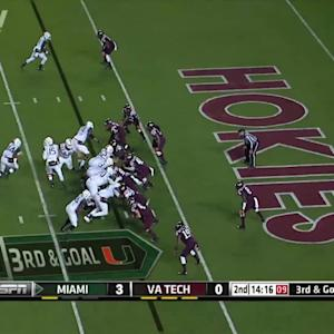 Miami vs Virginia Tech | 2014 ACC Football Highlights