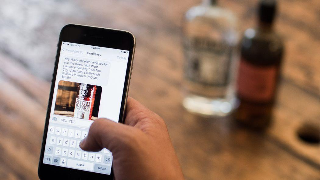 Behold, the World's First Text Message-Based Liquor Store