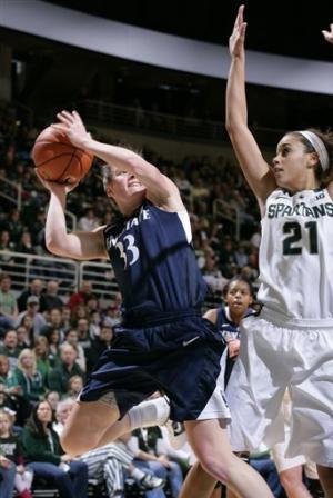 Penn St women use balance to beat Michigan State
