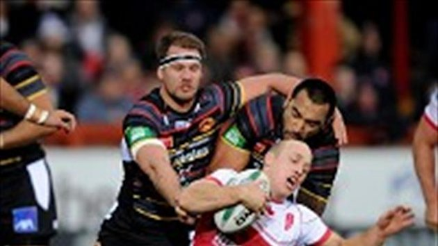 Michael Dobson scored two tries in a convincing win for Hull KR