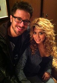 Danny Gokey and Leyicet Peralta | Photo Credits: Sophia's Heart