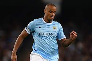 Man City captain Kompany out for Belgium with thigh strain