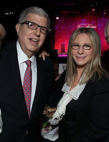 "In this Nov. 8, 2011 file photograph originally released by Cedars-Sinai Medical Center shows composer Marvin Hamlisch, left, and Barbra Streisand at the Cedars-Sinai Board of Governors Gala at The Beverly Hilton Hotel in Beverly Hills, Calif. Hamlisch, a conductor and award-winning composer best known for the torch song ""The Way We Were,"" died Monday, Aug. 6, 2012 in Los Angeles. He was 68. (AP Photo/Cedars-Sinai Medical Center, Alex J. Berliner, file )"
