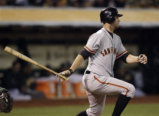 Cain delivers for Giants to cap unbeaten spring