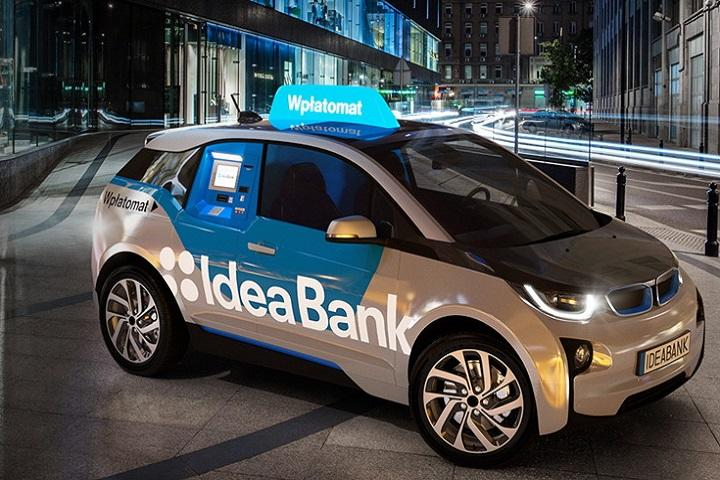 This BMW i3 Doubles as a Mobile ATM