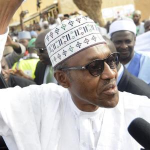 Buhari Ahead in Nigerian Election