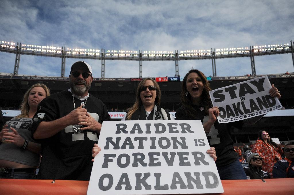 Raiders file application for move to Las Vegas