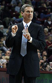 College hoops coaches on the hot seat