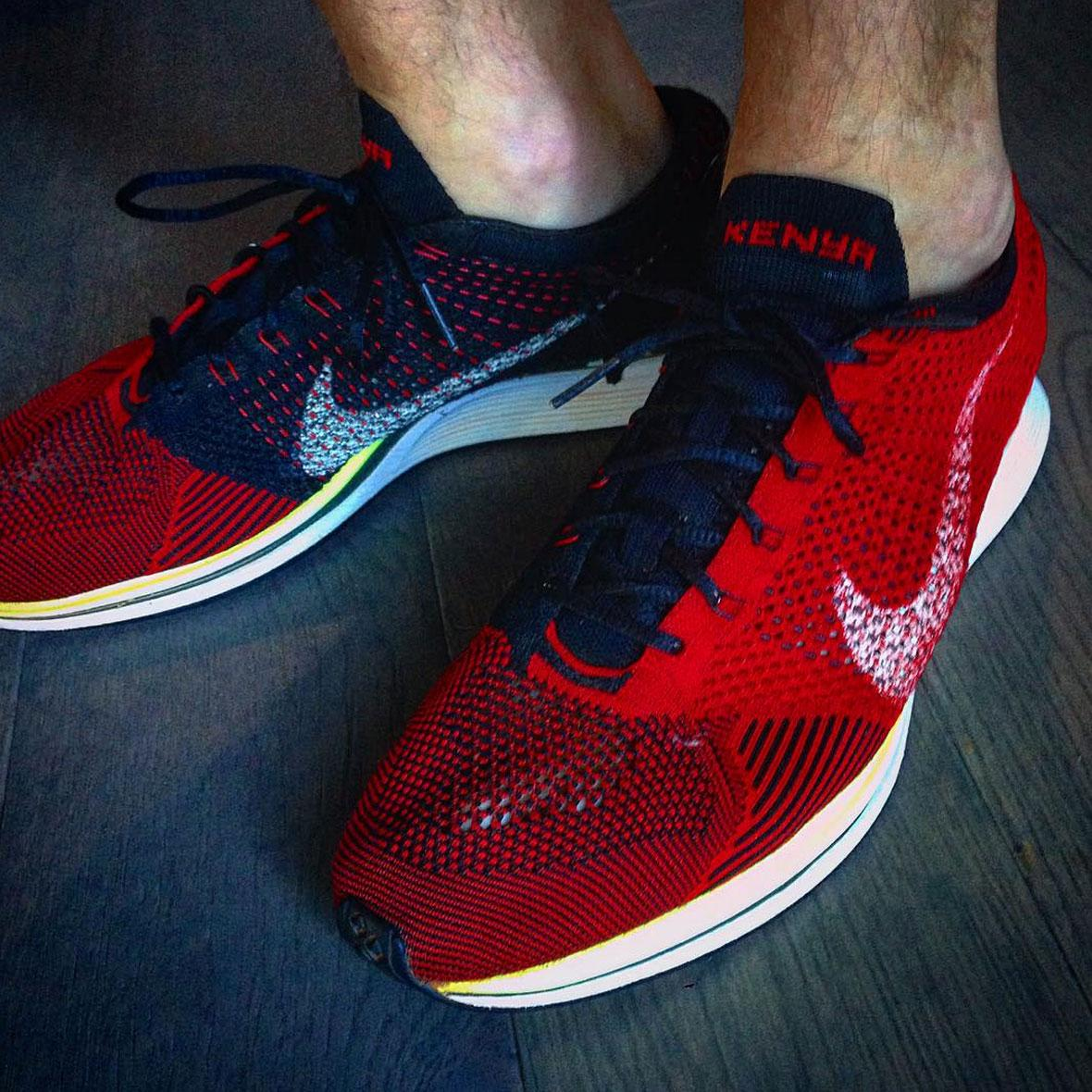 One of the Rarest Nike Flyknit Racers Was Made for a Kenyan Runner
