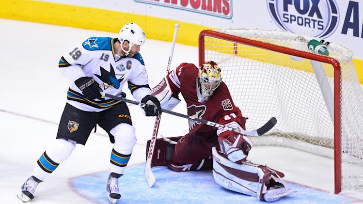 NHL: San Jose Sharks at Phoenix Coyotes
